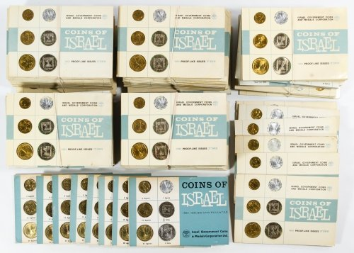 Israel: 1963 and 1965 Proof Set Assortment