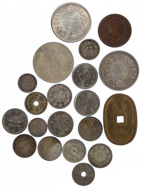 Japan: Coin Assortment - 2