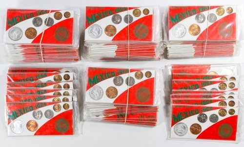 Mexico: 1964 Proof Set Assortment