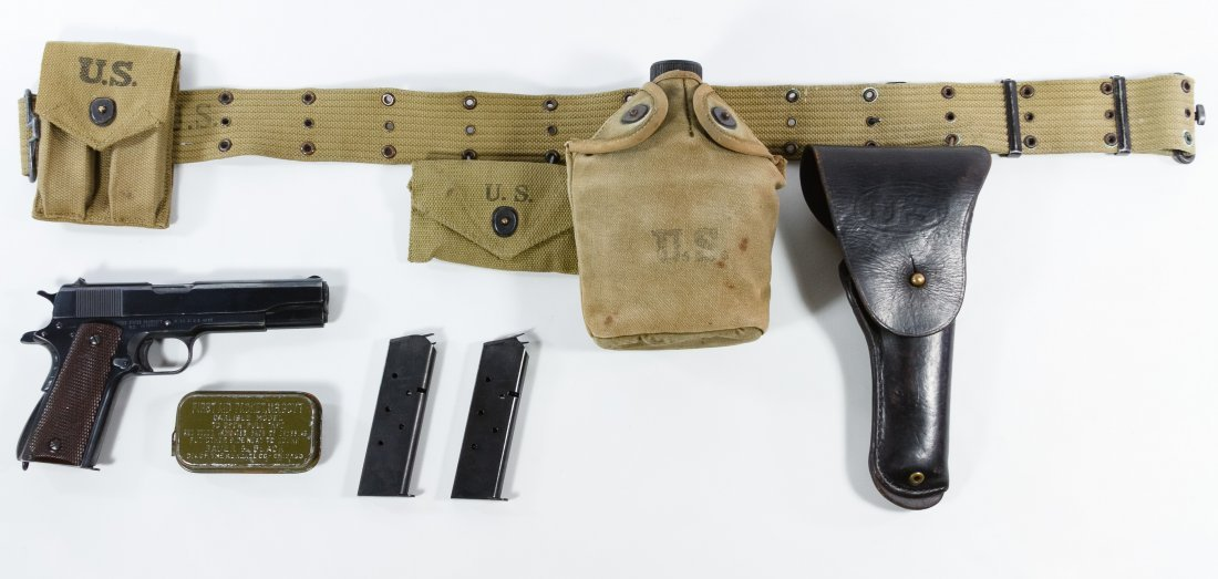 Remington Rand M1911 A1 .45 Semi-automatic Pistol