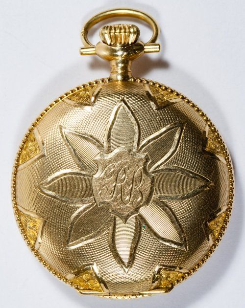 Elgin 14k Gold Full Hunter Case Pocket Watch