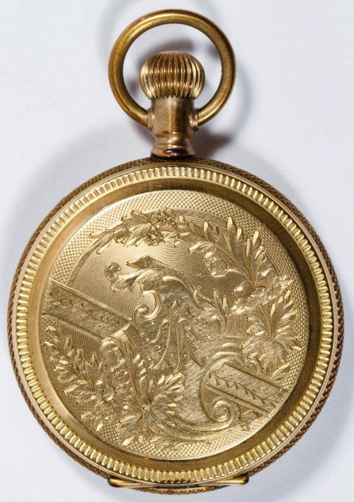 Elgin 14k Gold Full Hunter Case Pocket Watch