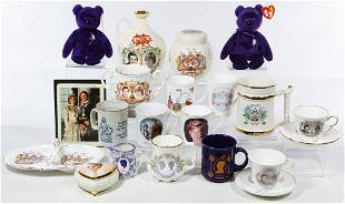 Princess Diana and Prince Charles Souvenir Assortment