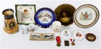 King Edward VII and Queen Alexandra Souvenir Assortment