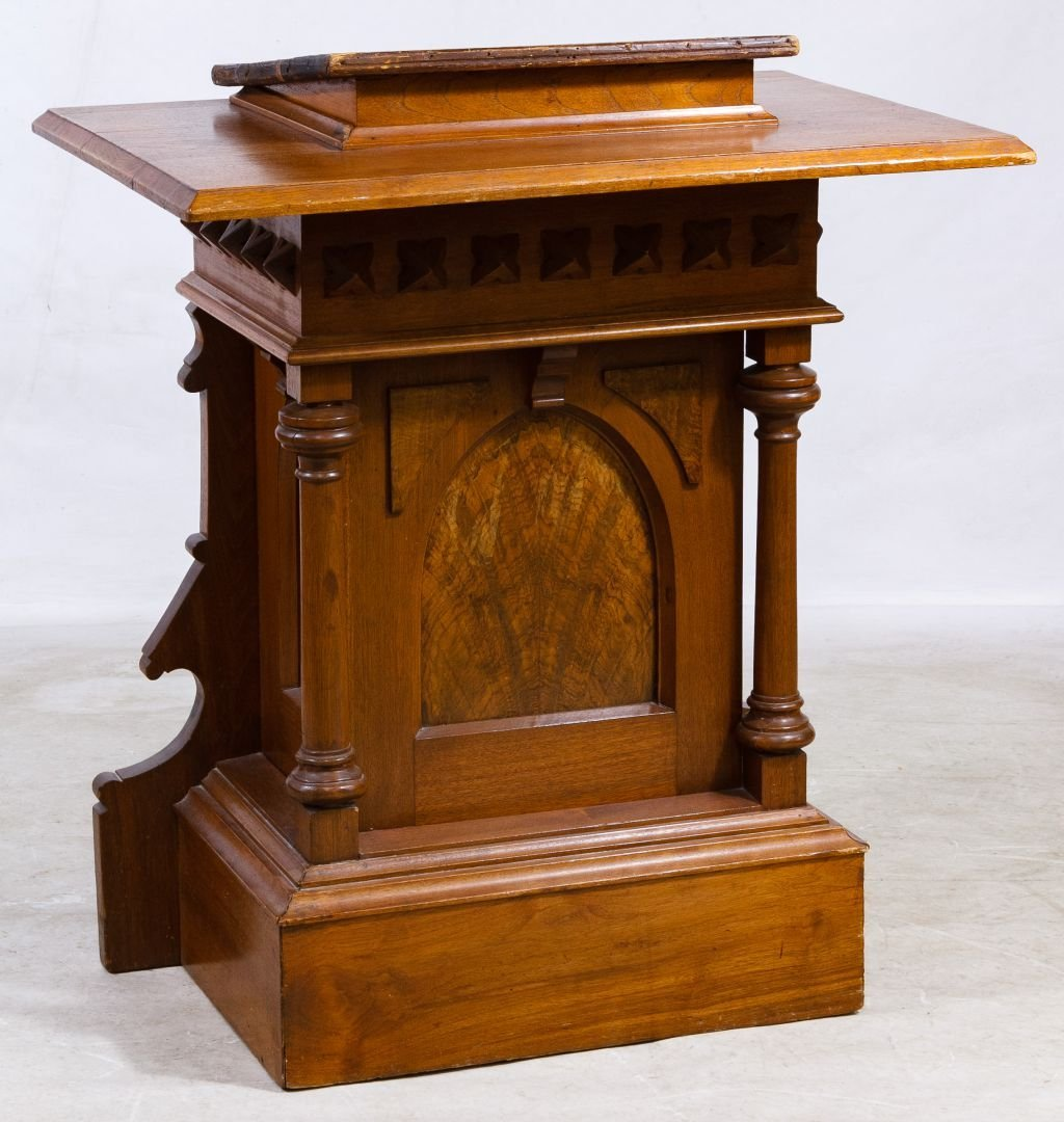 Jacobean Style Mixed Wood Pulpit