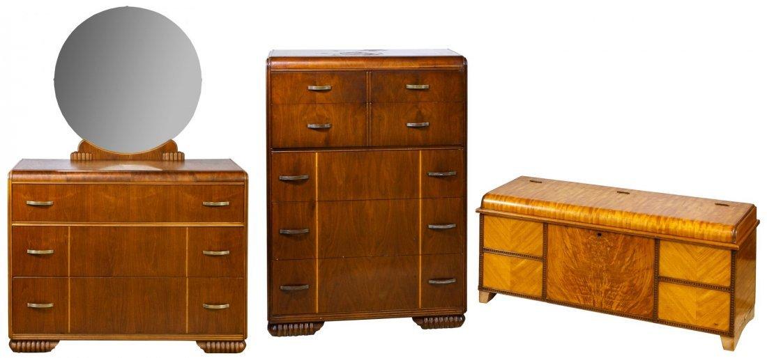 Mahogany Waterfall Bedroom Furniture Assortment