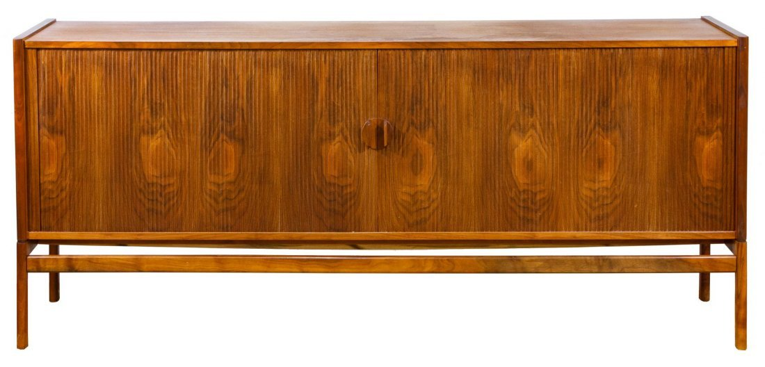 Danish Modern Teak Credenza / Buffet in the Manner of