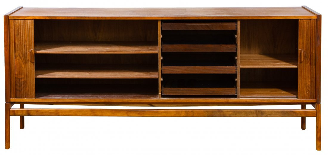 Danish Modern Teak Credenza / Buffet in the Manner of - 2