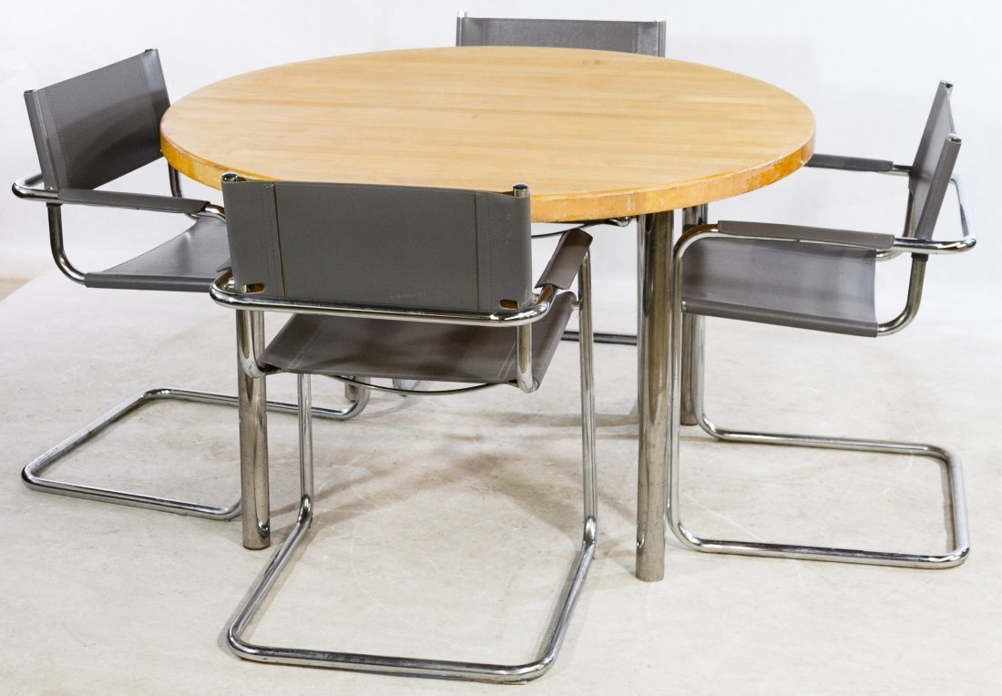 Mid-Century Modern Table and Chair Set