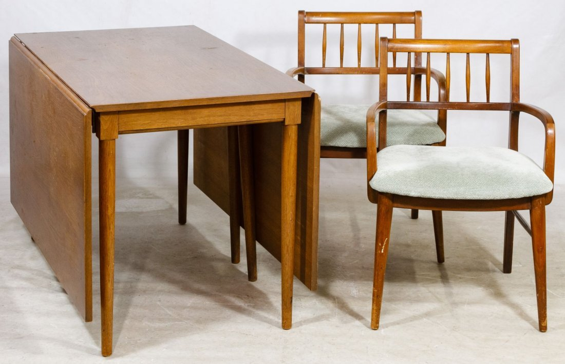 Mid-Century Modern Teak Drop Leaf Table