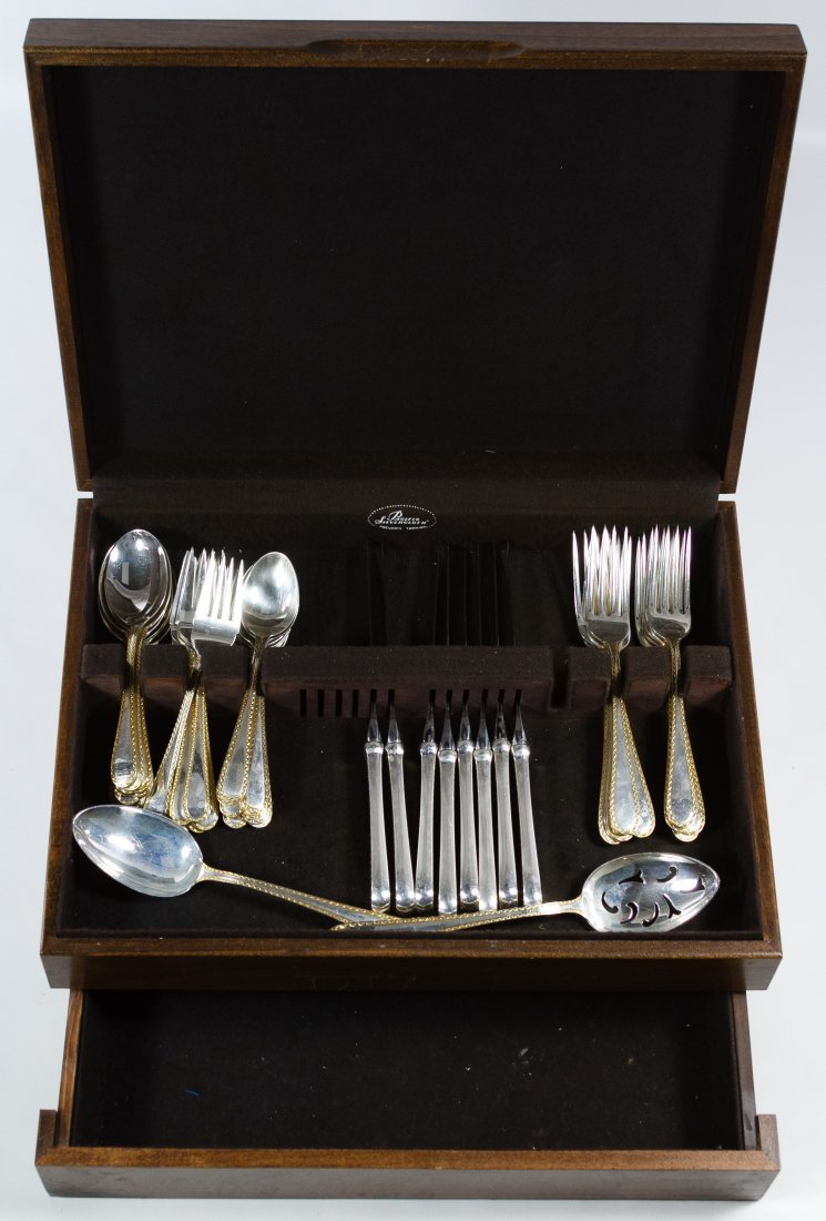 S. Kirk & Sons 'Golden Winslow' Sterling Silver