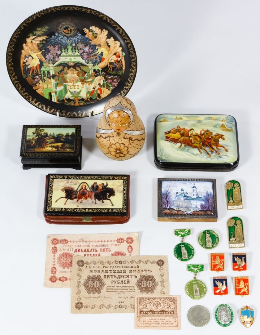 Russian Object Assortment