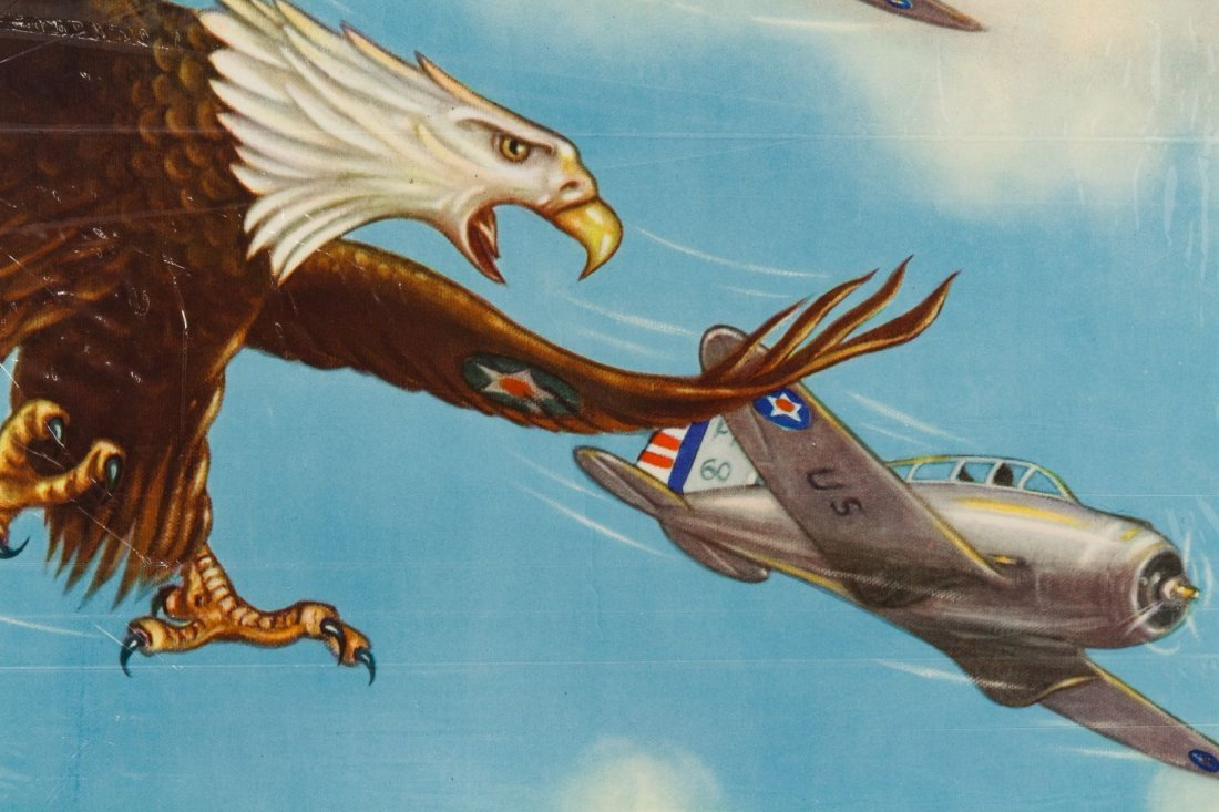 World War II 'Wings Over America' Poster by Tom - 2