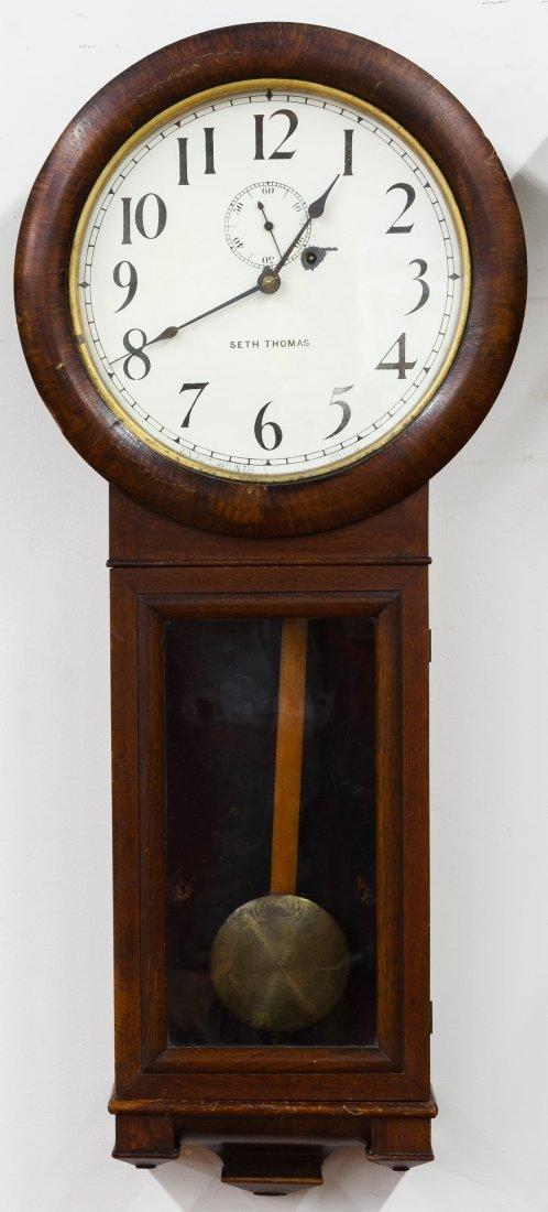 Mahogany Seth Thomas Wall Clock