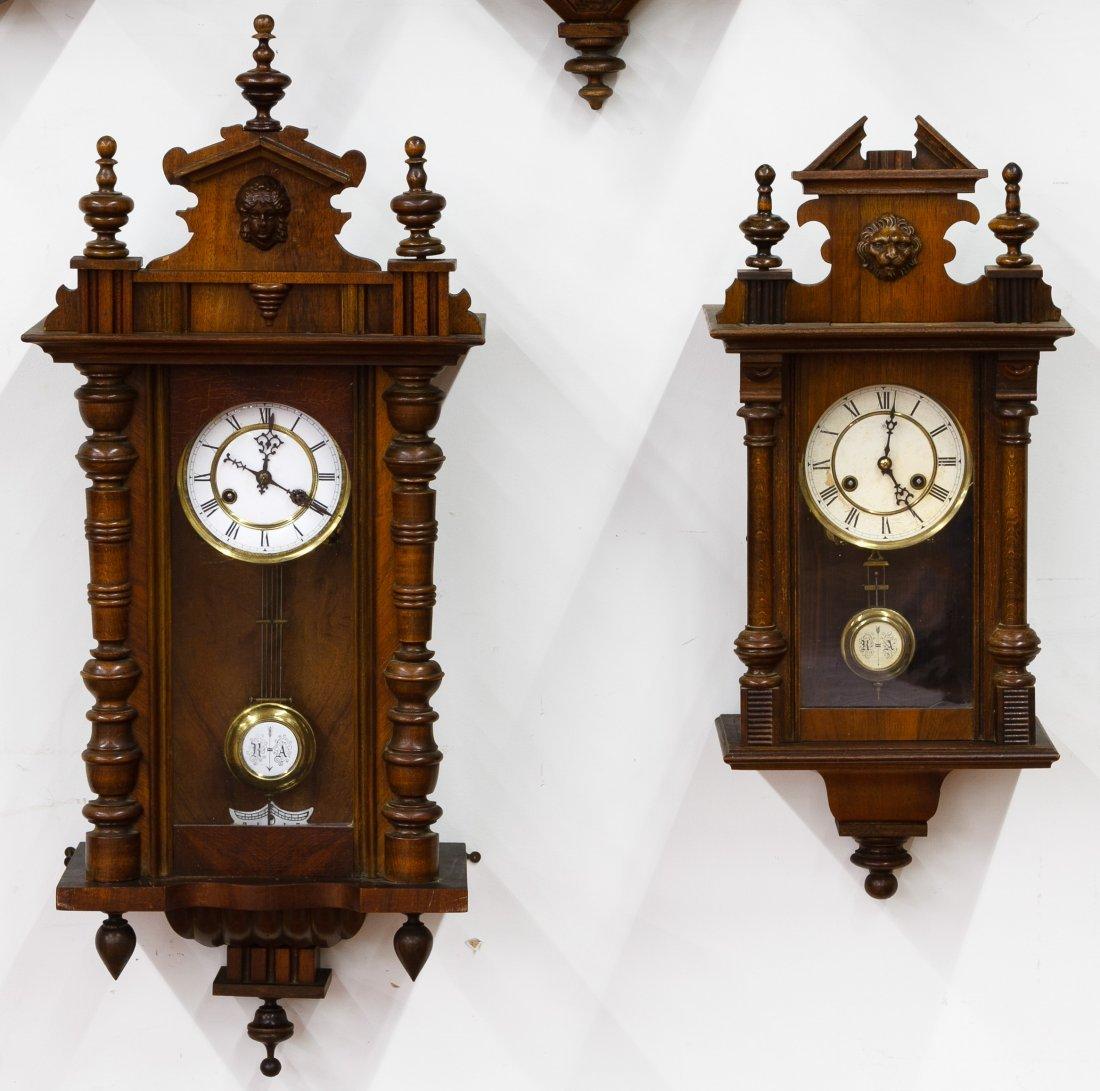 Mahogany Wall Clocks