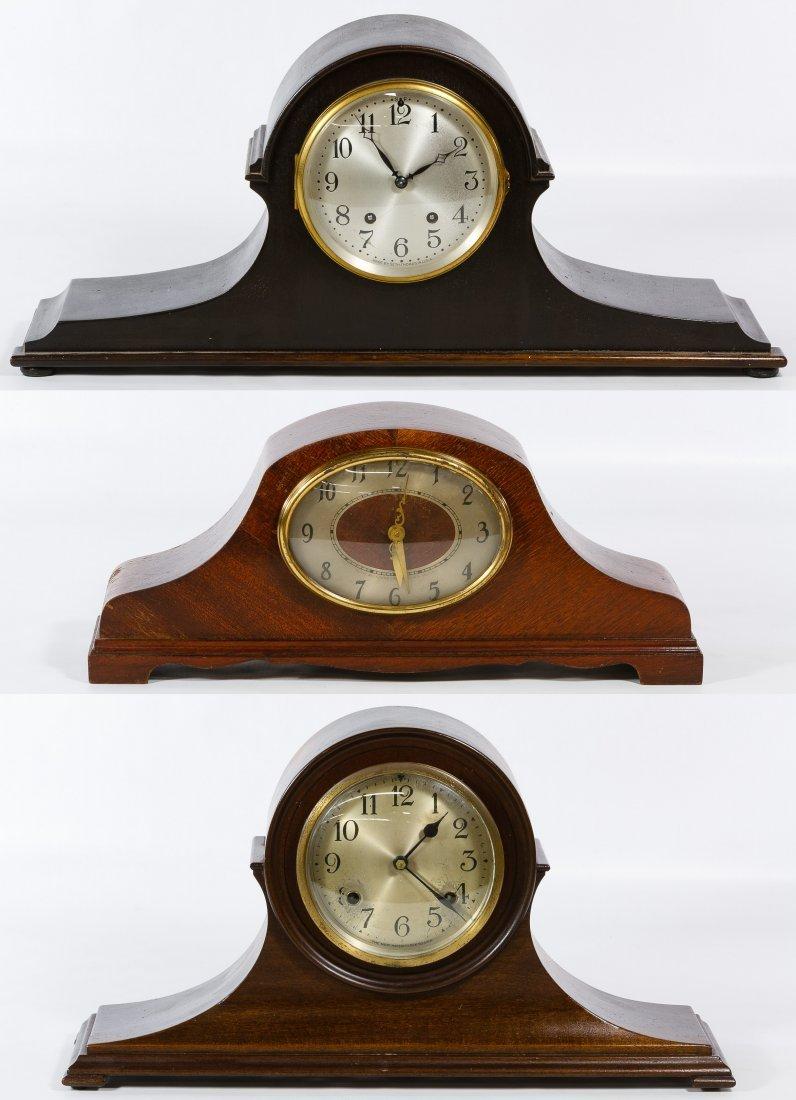 Wood Mantel Clock Assortment