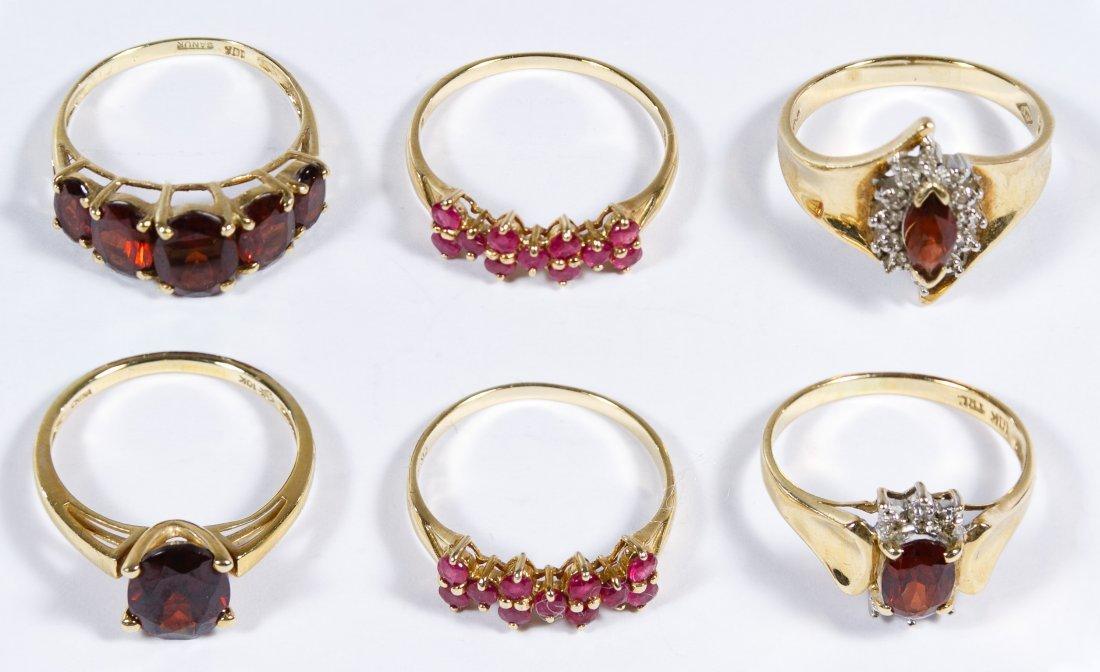 10k Gold Ring Assortment