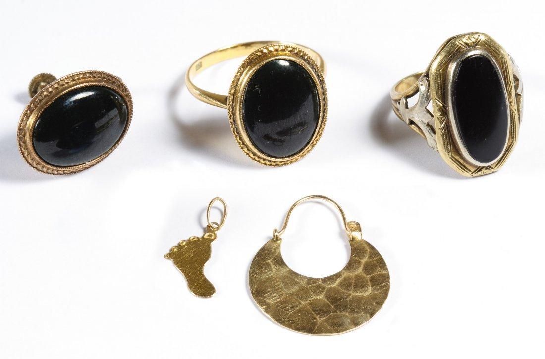 18k, 14k and 10k Gold Jewelry Assortment