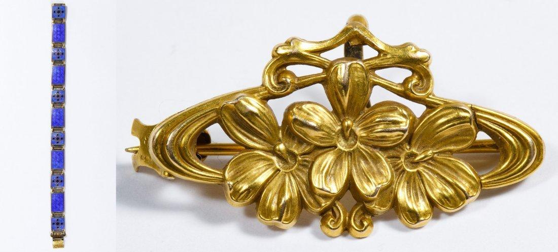 Bernard Meldahl Sterling Silver Guilloche Bracelet