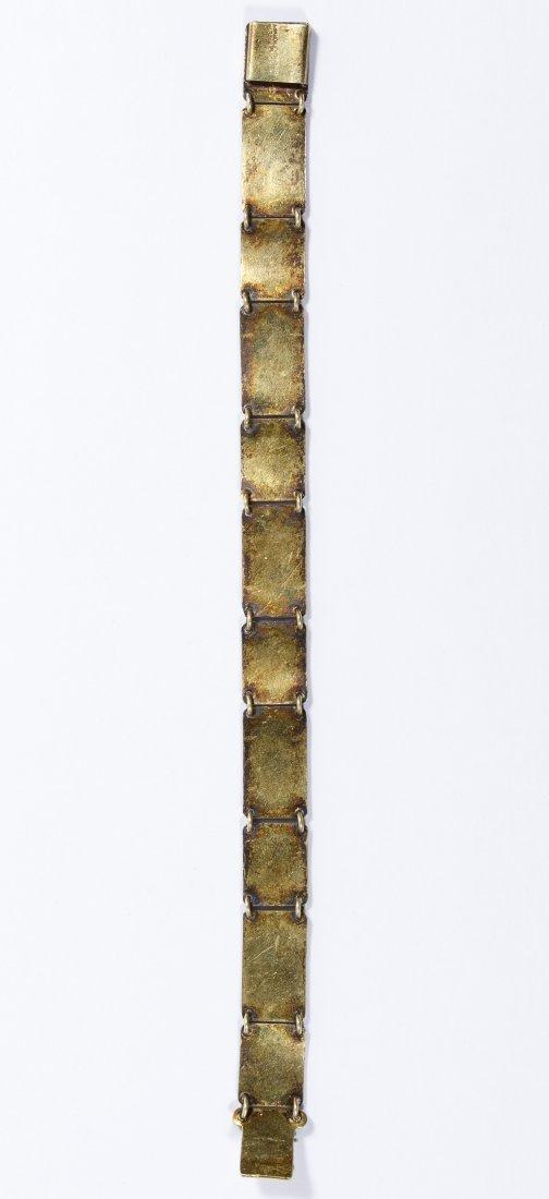 Bernard Meldahl Sterling Silver Guilloche Bracelet - 3