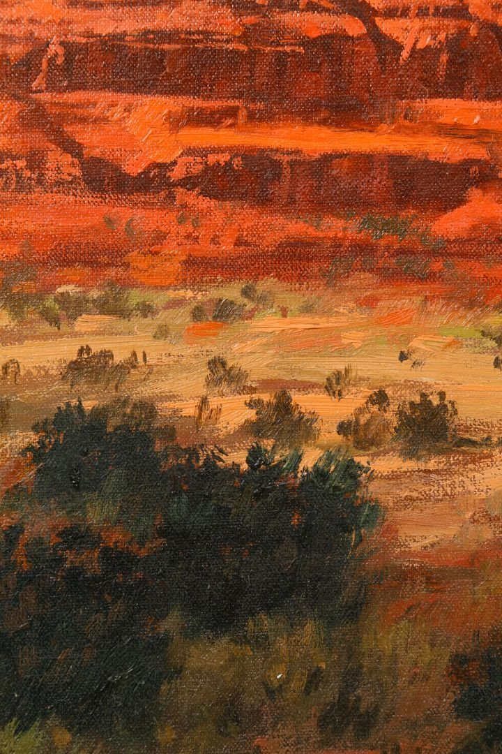 Robb Woods (American, 20th Century) 'Bell Rock' Oil on - 3