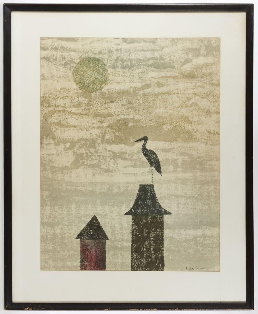 Keiko Minami (Japanese, 1911-2004) Lithograph