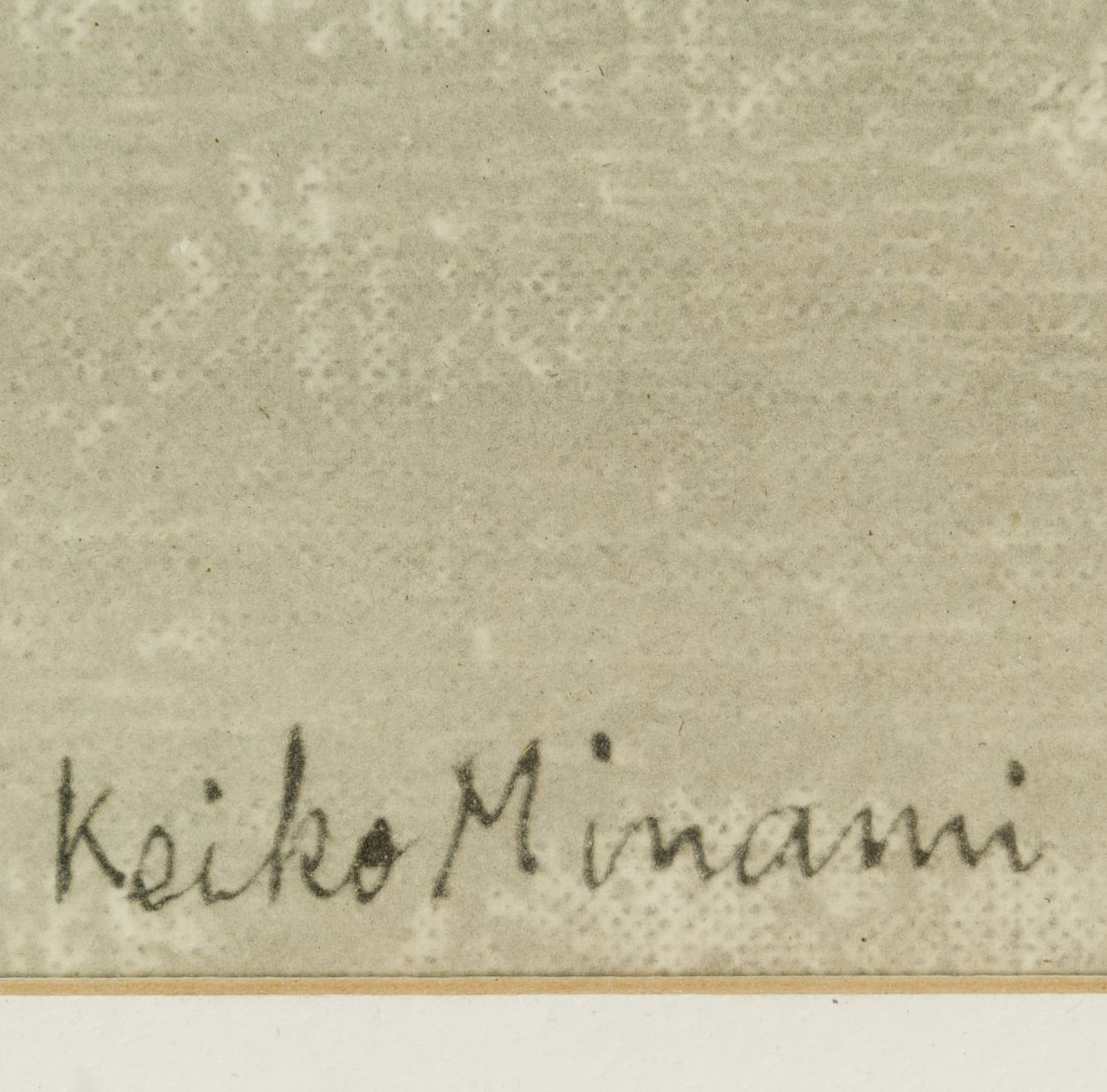 Keiko Minami (Japanese, 1911-2004) Lithograph - 3