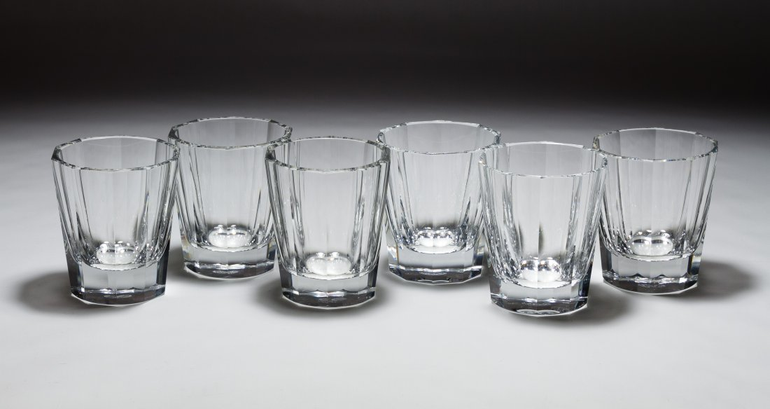 Baccarat Crystal 'Monaco' Double Old Fashion Glasses