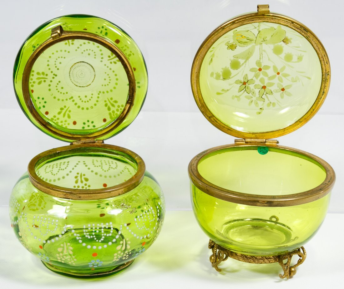 Moser Green Dresser Boxes - 2