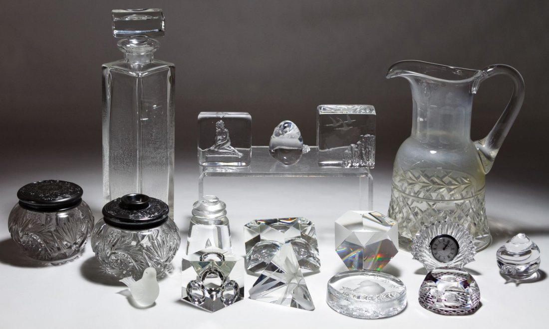 Steuben and Waterford Crystal Assortment