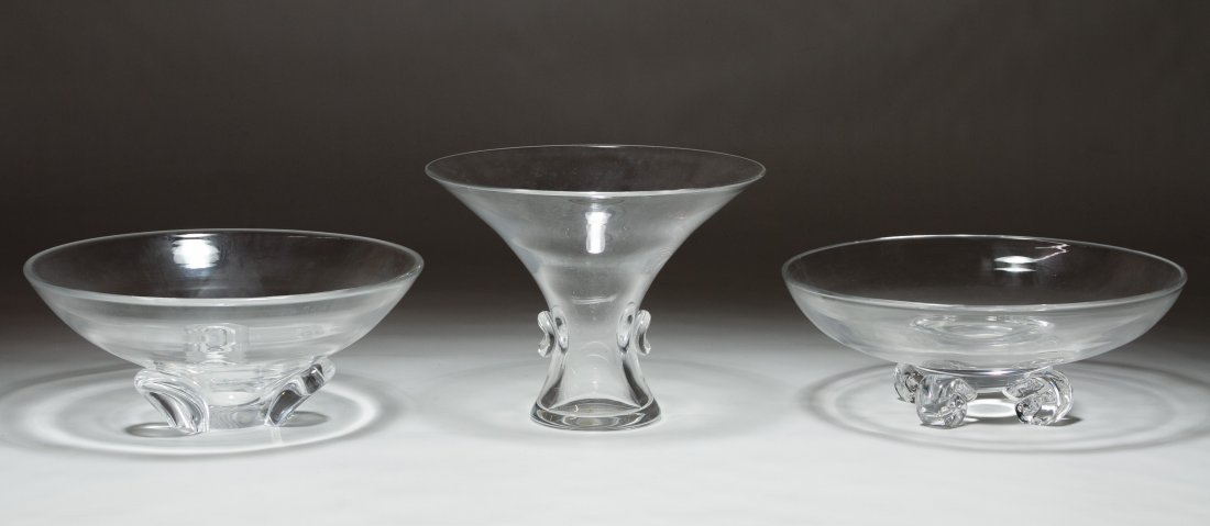 Steuben Bowl and Vase Assortment
