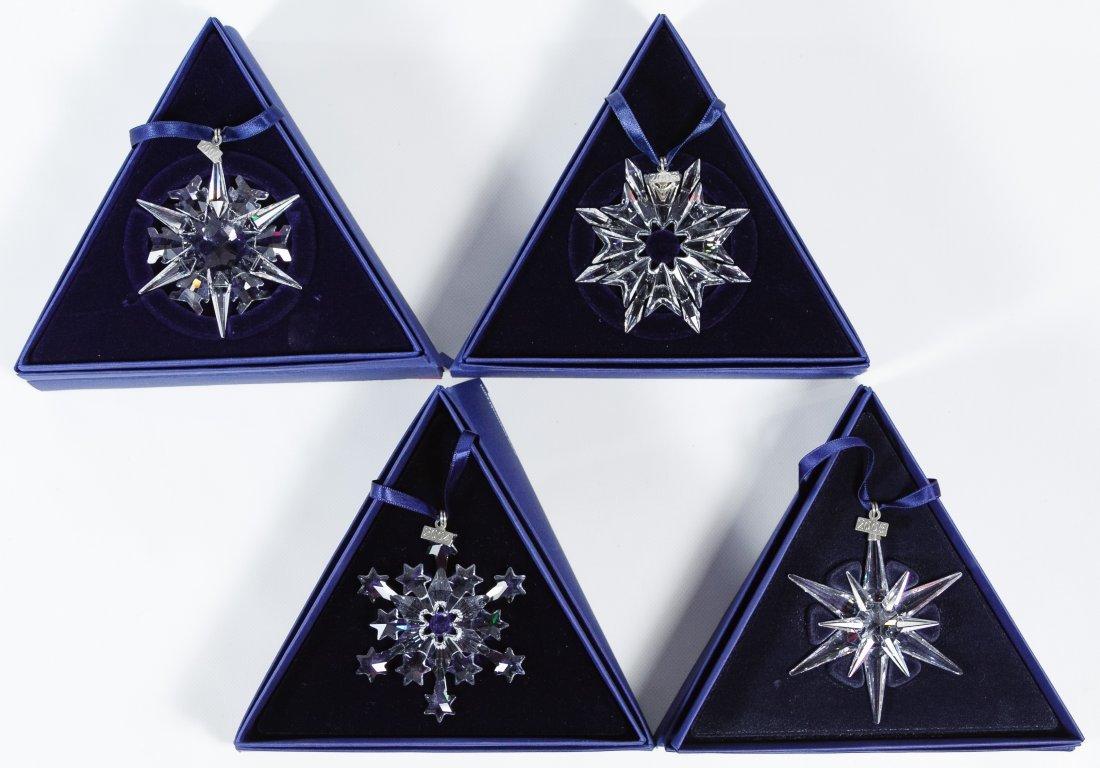 Swarovski Crystal Ornament Assortment
