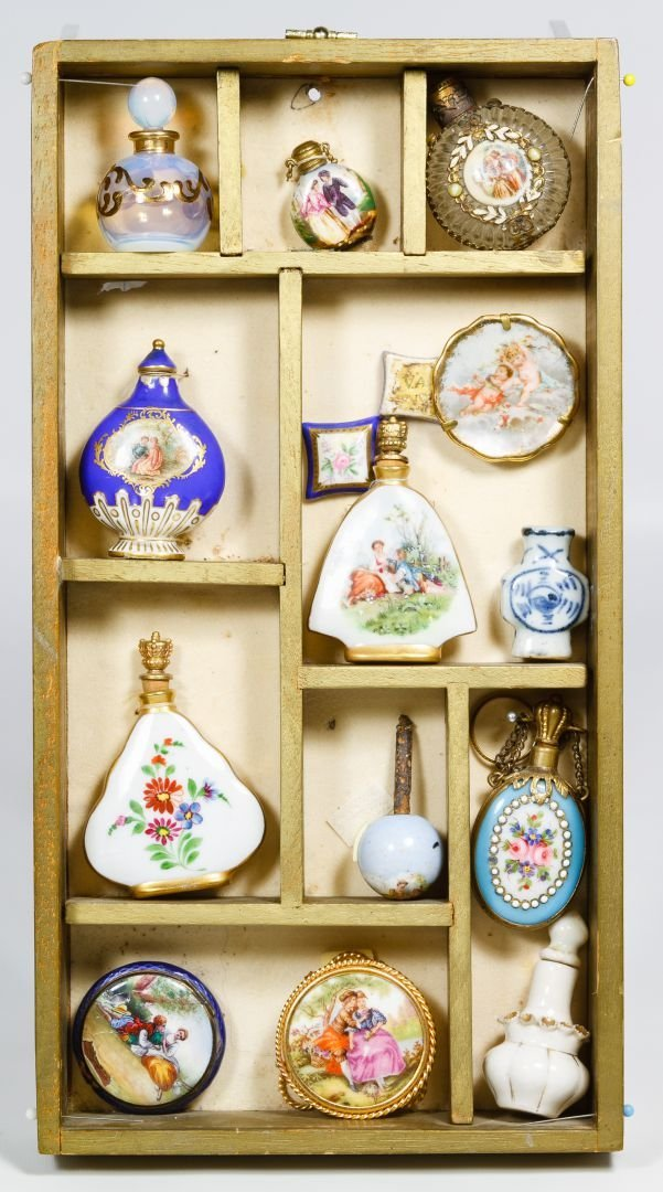 Ceramic and Glass Perfume Bottle in Display Box