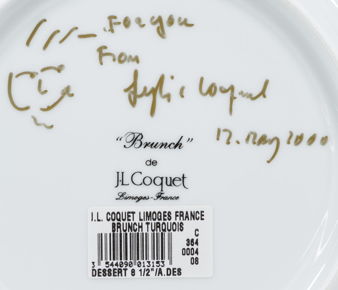 Jean Louis Coquet Limoges 'Brunch' Plate Assortment - 2