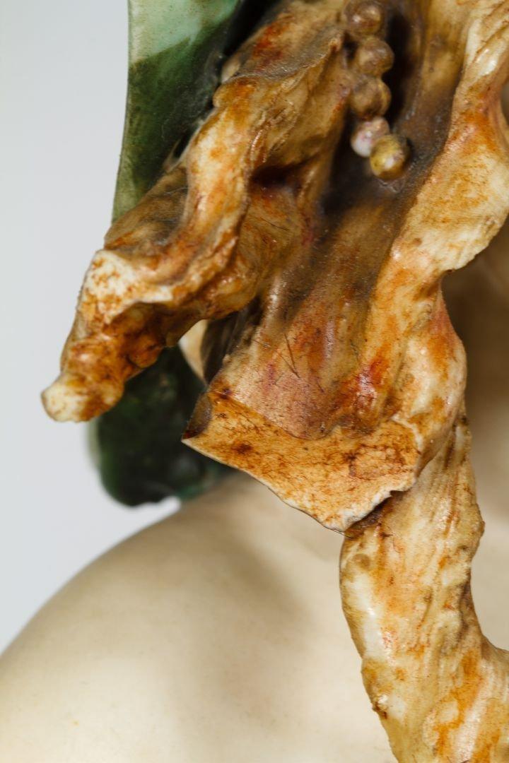 Turn Teplitz Amphora Art Nouveau Bust - 3