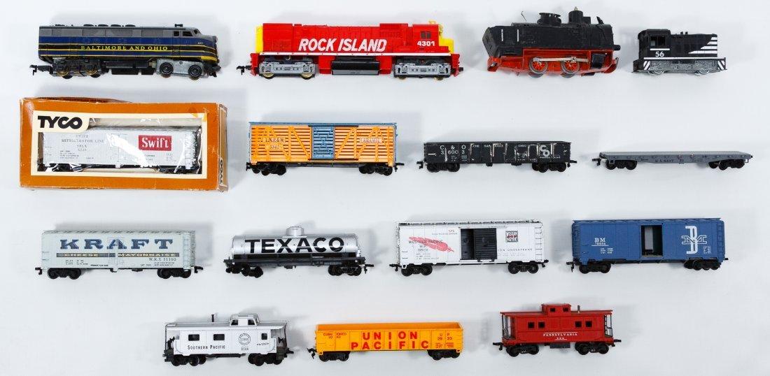 Tyco HO Model Plastic Toy Train Car Assortment