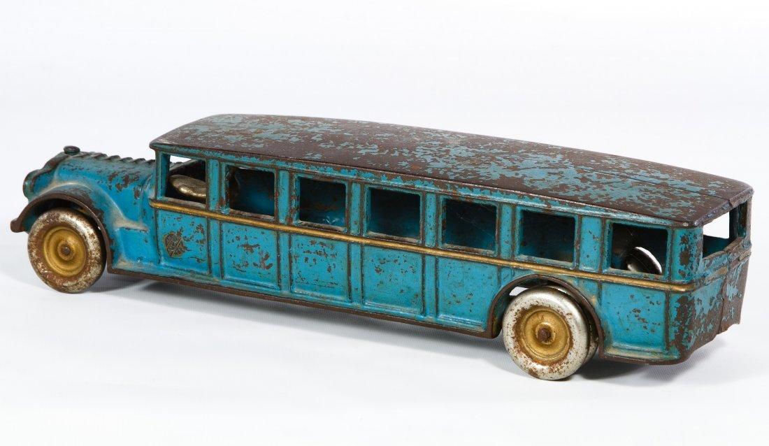 Arcade #307 'Fageol Safety Coach' Cast Iron Bus - 2