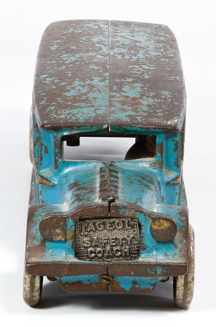 Arcade #307 'Fageol Safety Coach' Cast Iron Bus - 3