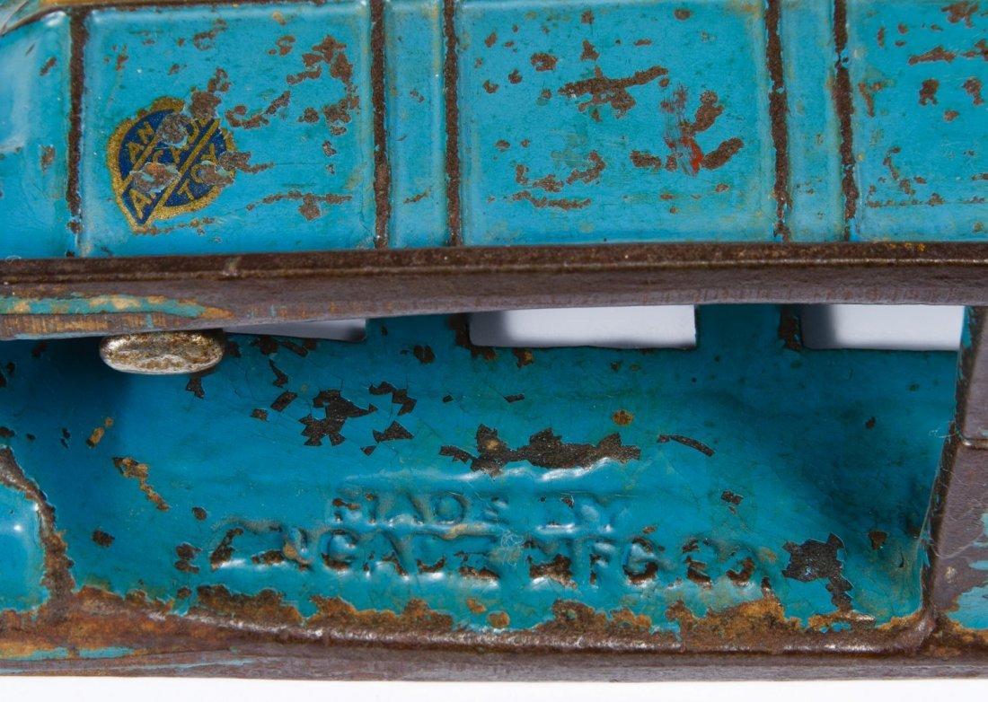 Arcade #307 'Fageol Safety Coach' Cast Iron Bus - 7
