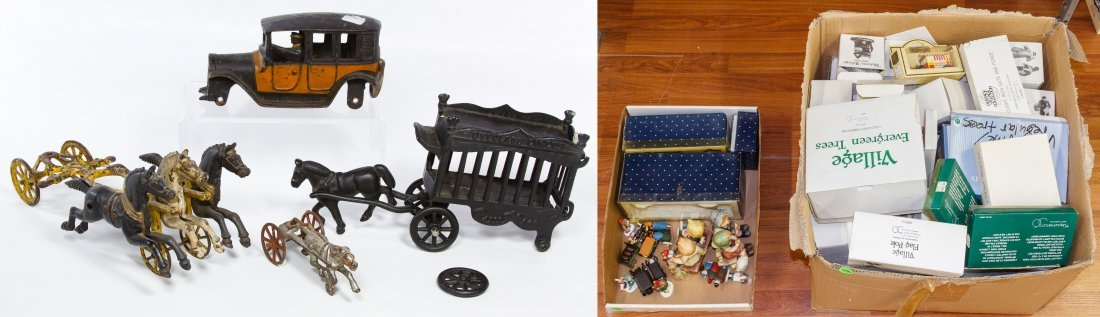 Cast Iron Toy Assortment