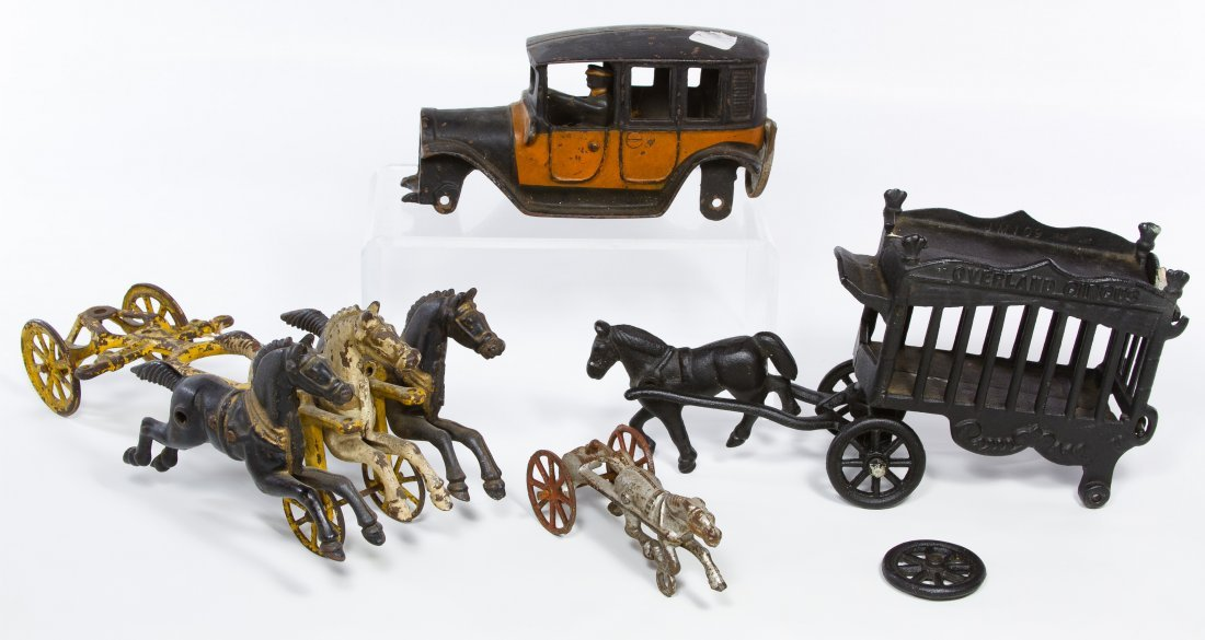 Cast Iron Toy Assortment - 2