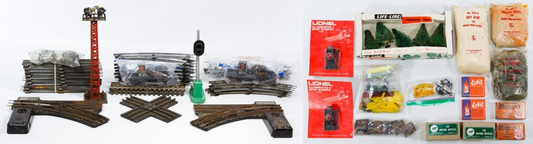 Lionel O-Gauge Toy Train Track Assortment