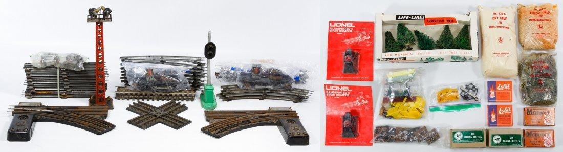 Lionel O-Gauge Toy Train Track Assortment