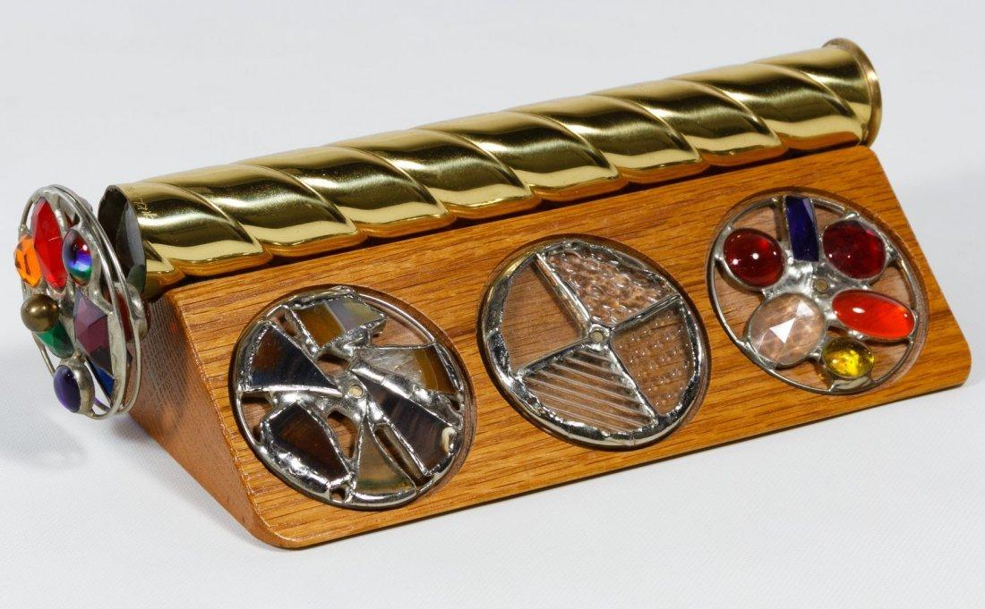 Chesnik-Koch, LTD Brass and Glass Kaleidoscope
