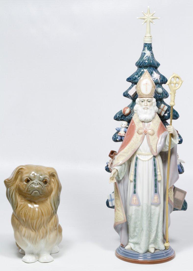 Lladro #5427 'Saint Nicholas' Figurine