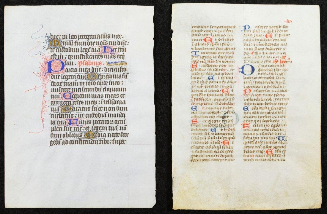 Illuminated Manuscript Pages