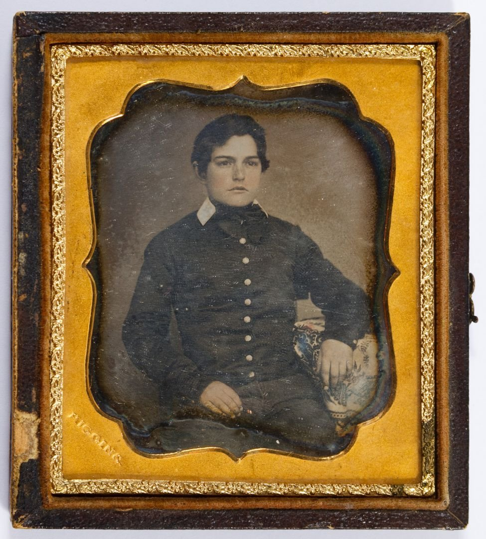 Pre-Civil War Soldier Daguerreotype