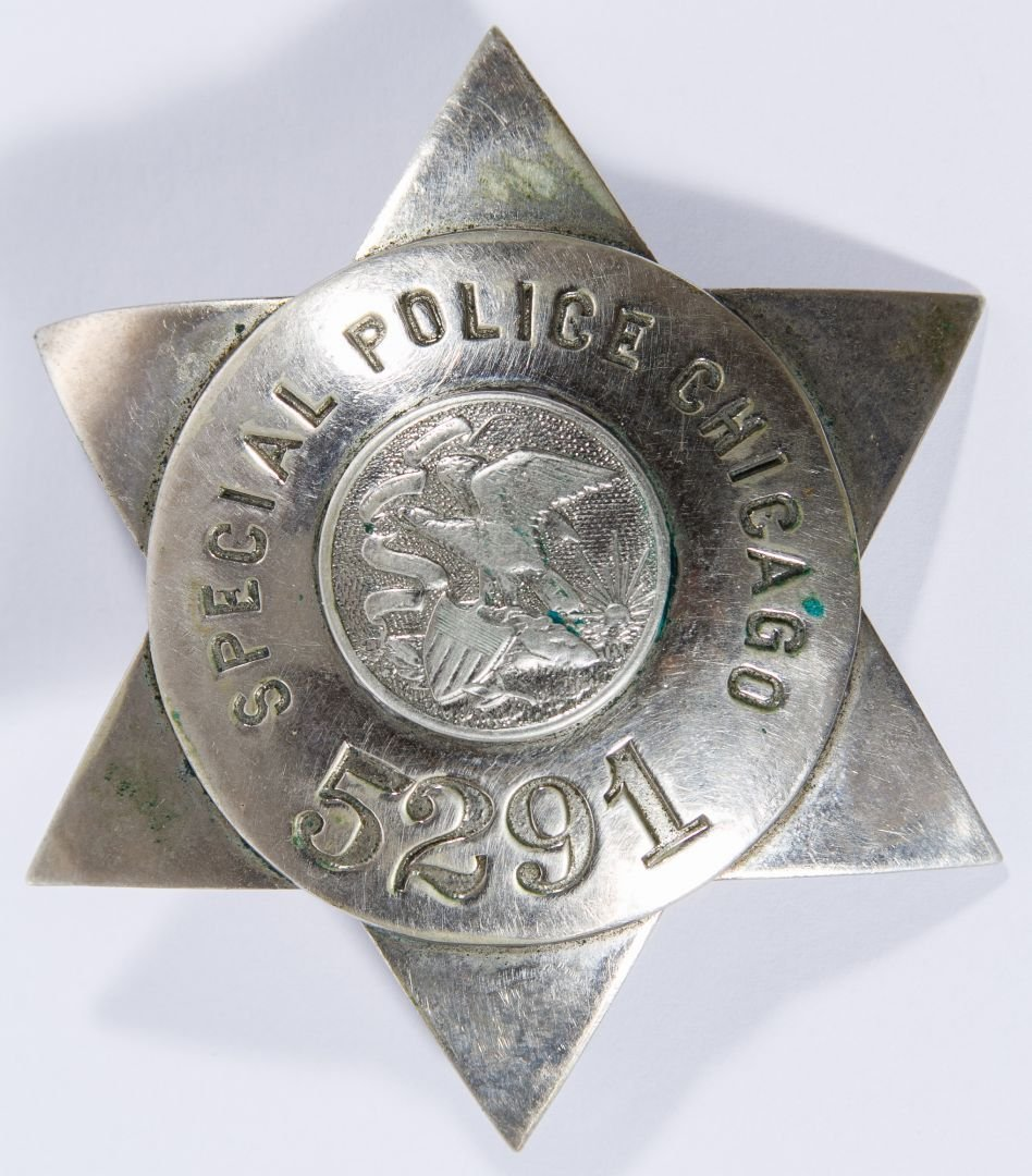 Vintage Chicago Special Police Badge