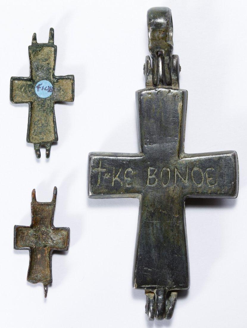 Byzantine Bronze Crosses - 2