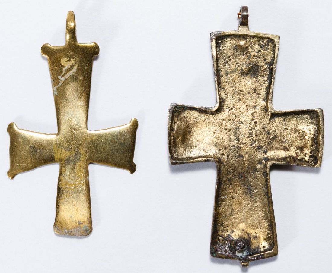 Byzantine Bronze Crosses - 2